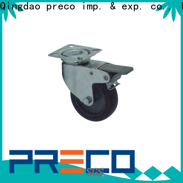 PRECO hot recommended heavy duty casters manufacturer For Hospital