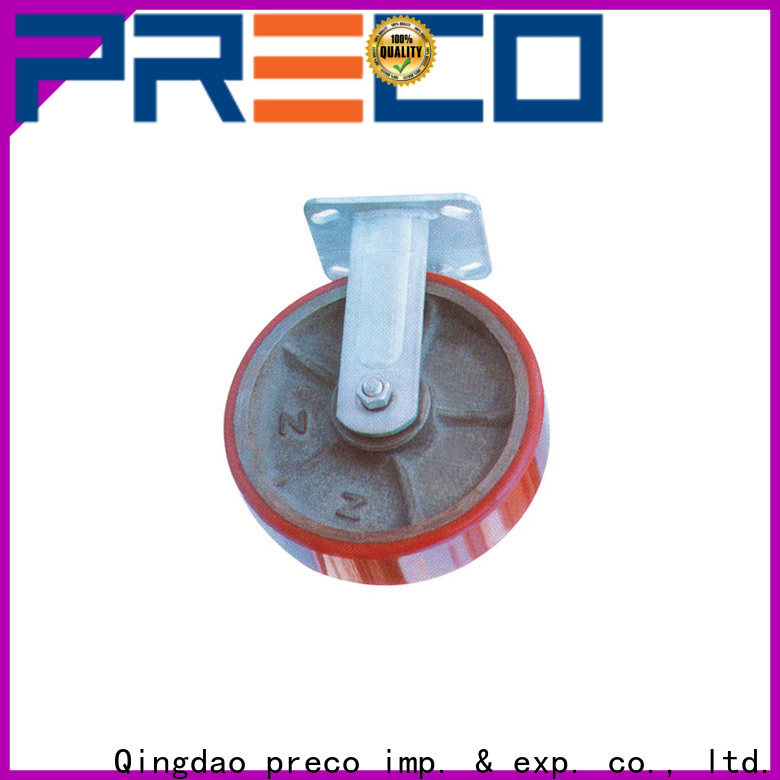 PRECO wheels swivel caster wheels chinese manufacturer for car