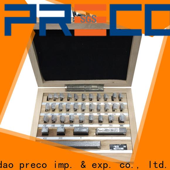 PRECO top carbide gage blocks inquire now for Caliper