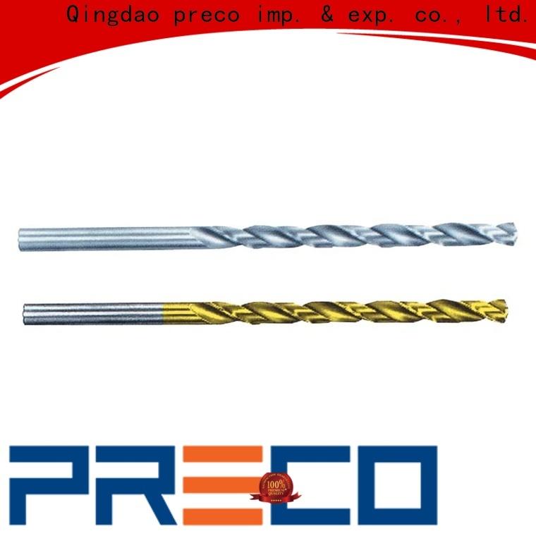 PRECO new twist drill function