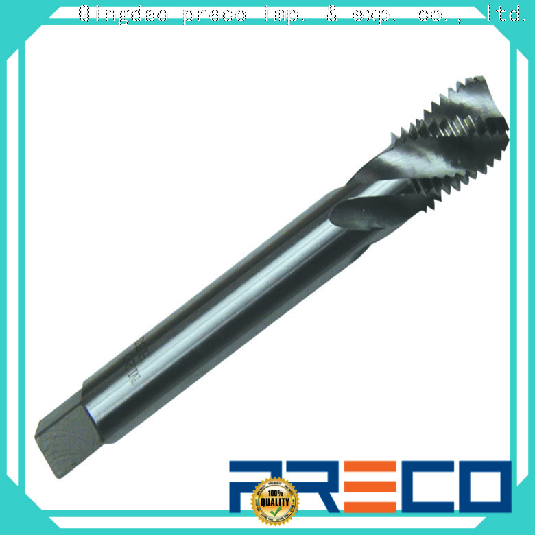 PRECO new spiral machine tap manufacturers for factory