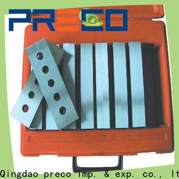 PRECO latest precision parallels sets manufacturers