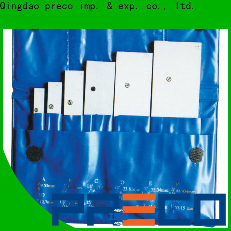 PRECO parallel precision parallels sets china manufacturer for Hold Down Set Up