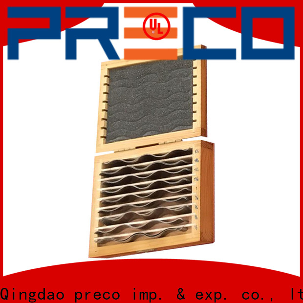 PRECO parallel adjustable parallels manufacturer for metal working