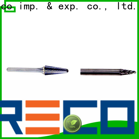 PRECO highly recommend tungsten carbide burrs manufacturers for cutting metal
