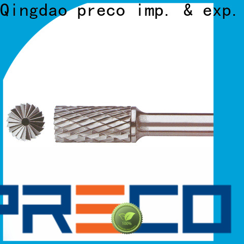 PRECO latest tungsten carbide bur manufacturers for work piece drilling