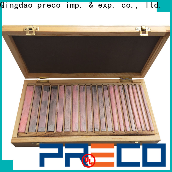 PRECO machining parallels manufacturer for Hold Down Set Up