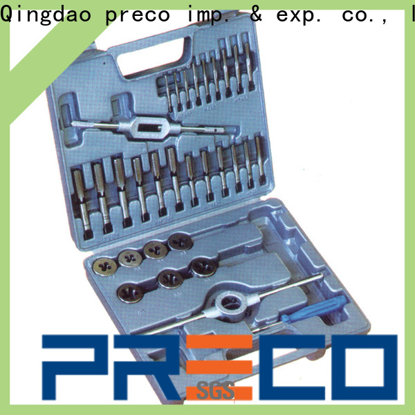 PRECO tap & die sets for sale for factory