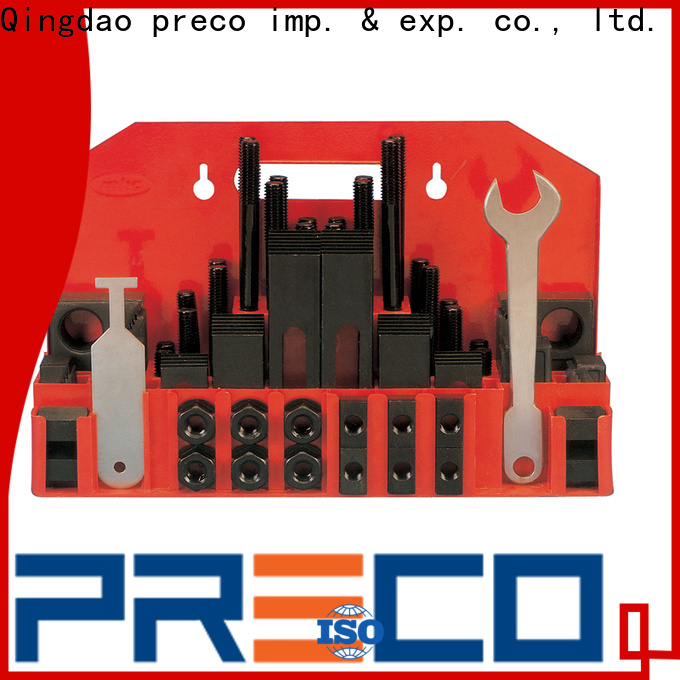 PRECO sophisticated milling machine clamp set company