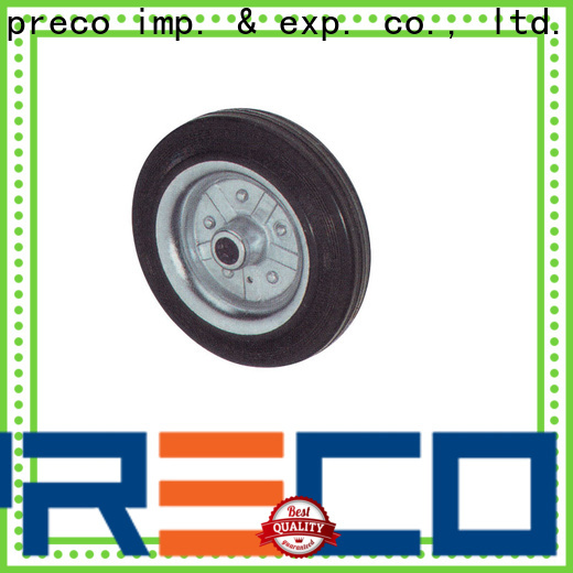 stable supply heavy duty trolley wheels rubber chinese manufacturer for car