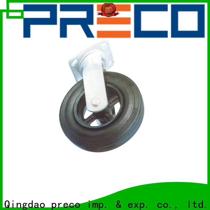 PRECO trolley heavy duty trolley wheels manufacturers for car