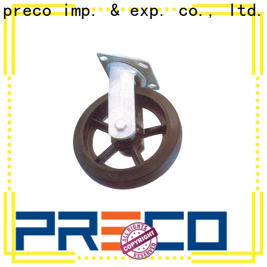 PRECO iron wheels and castors manufacturer for Scaffold