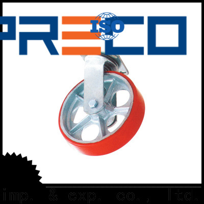 PRECO custom rubber caster wheels heavy duty China Factory For Furniture Wheels