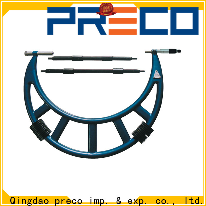 PRECO high-quality mechanical micrometer company for depth measurements