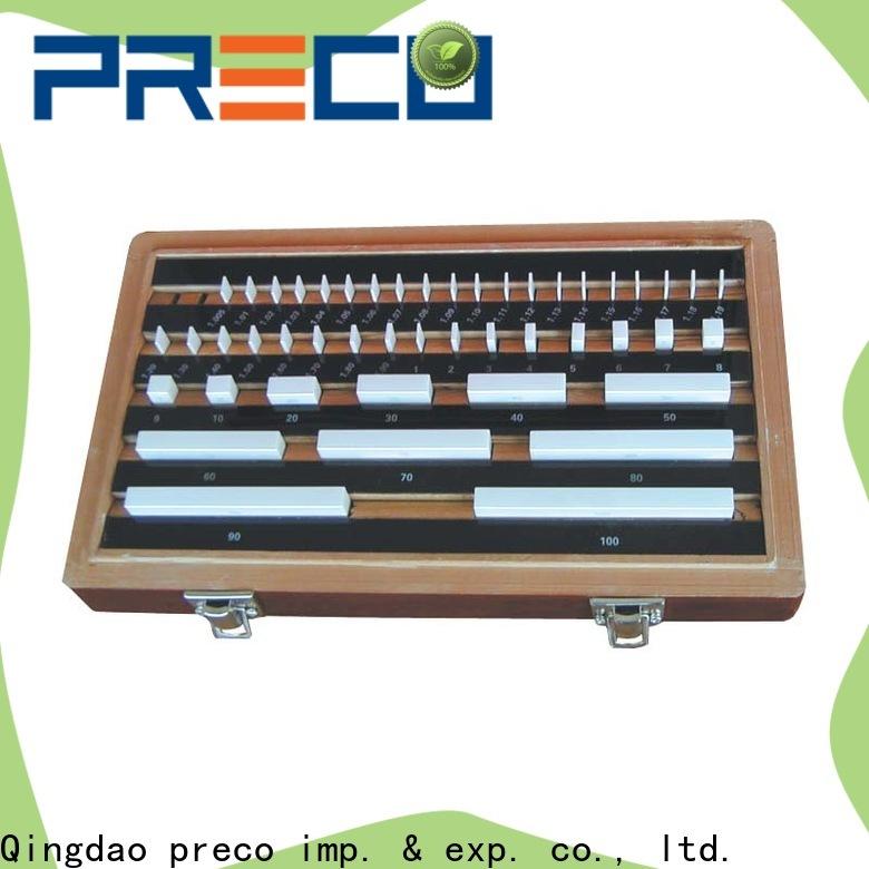 PRECO solid custom gauge blocks for business for workshop