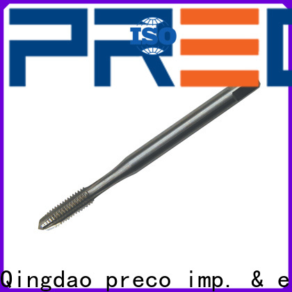 PRECO best fluteless tap company for factory