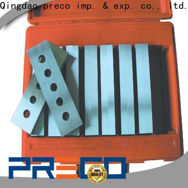 PRECO latest machinist parallels factory for metal working