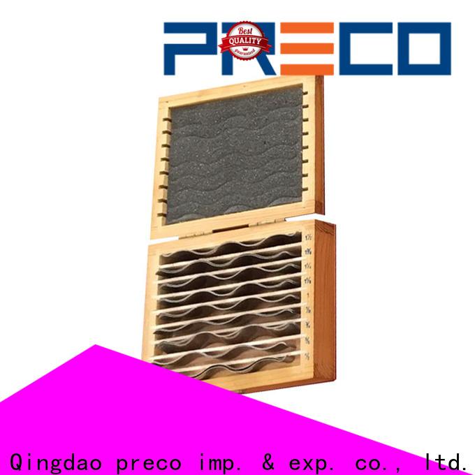 PRECO high-quality precision parallels company