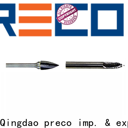 PRECO new rotary burr bits for business for cutting metal