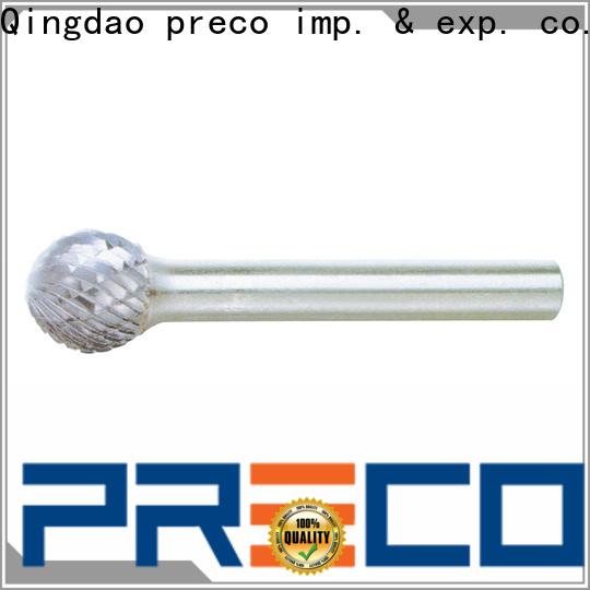 PRECO bitshape carbide burr bit set modern for cutting metal