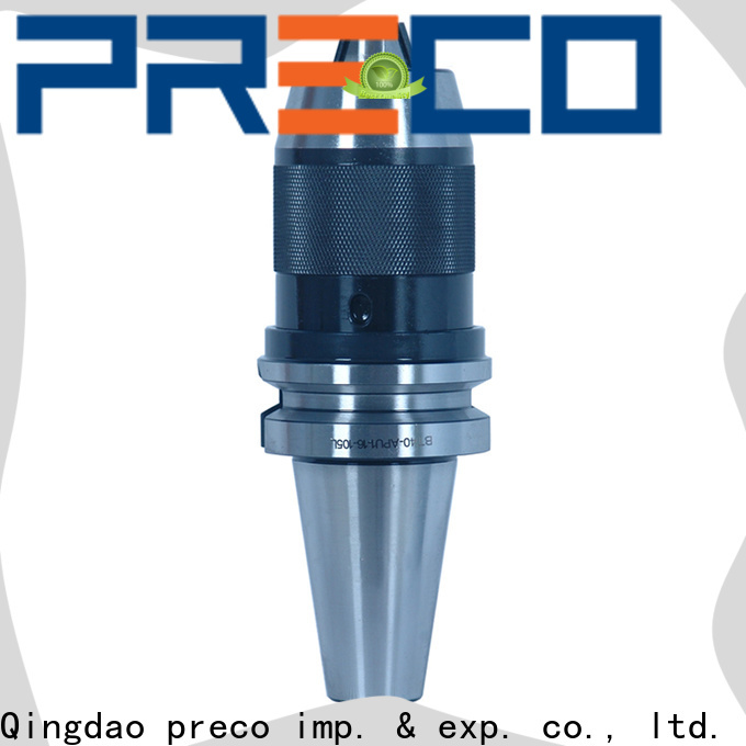 PRECO custom drill chuck arbor manufacturer for machine