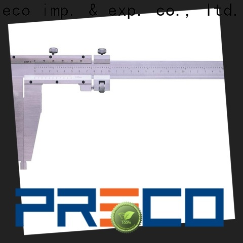 PRECO heavy vernier caliper tool company for depth measurements