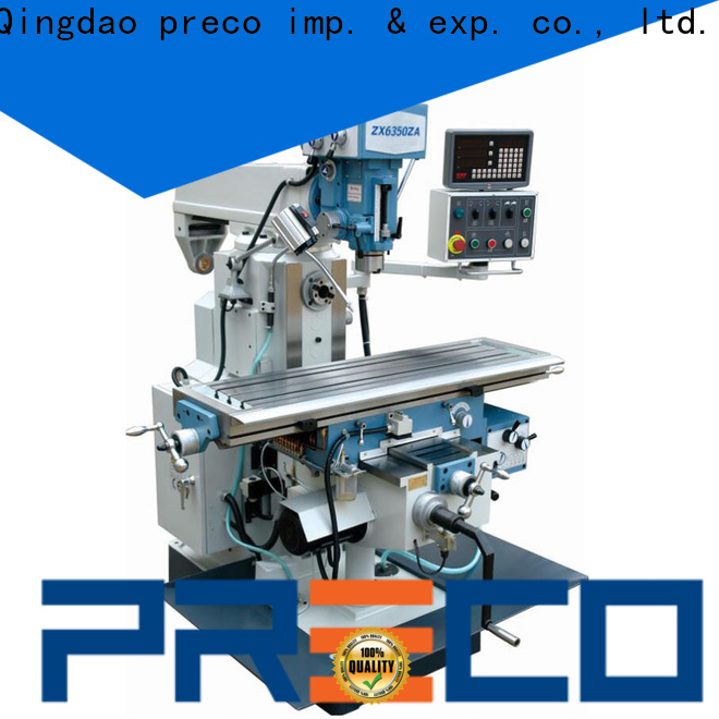 PRECO latest turret milling machine suppliers for factory