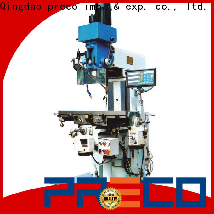 PRECO top central machinery mill drill manufacturers for machine processing