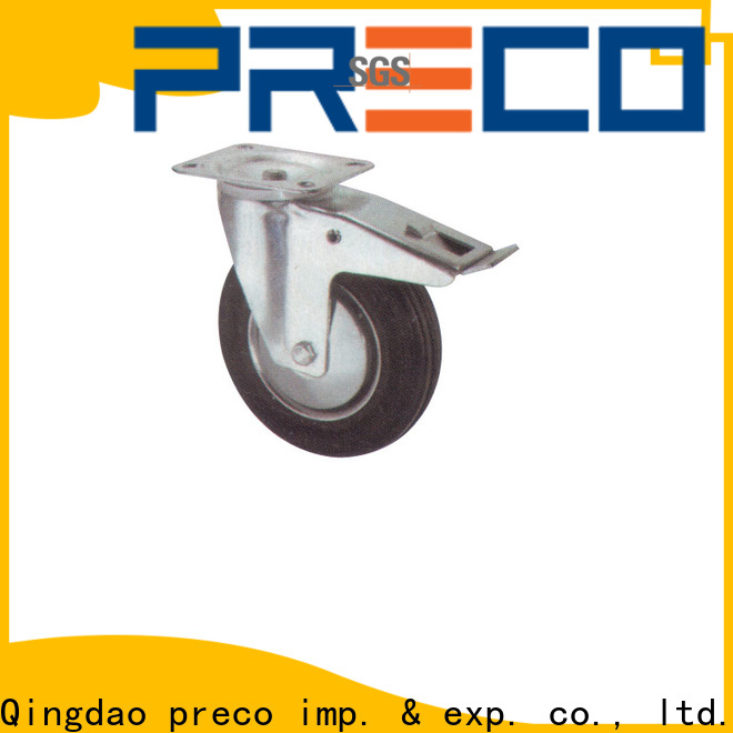 PRECO polypropylen swivel casters supply for car