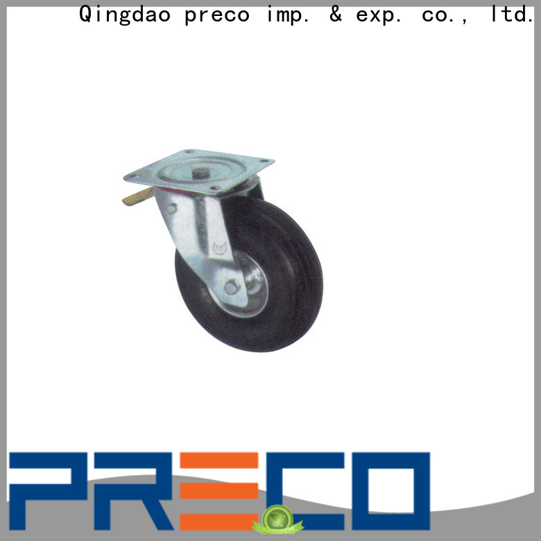 PRECO swivel rubber casters factory for car