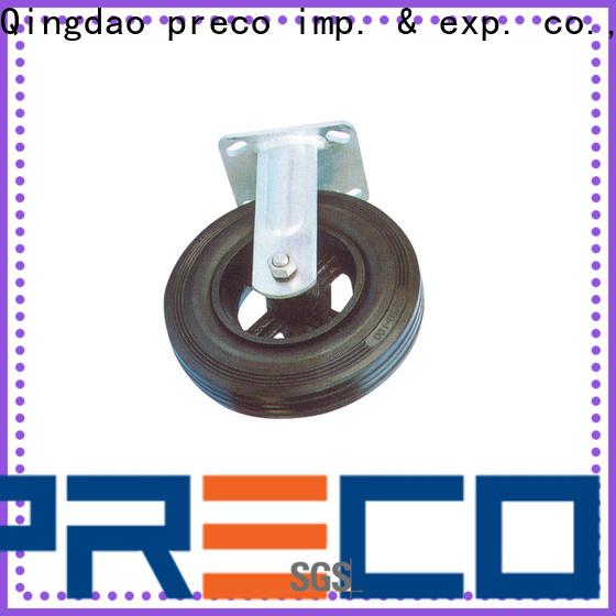 PRECO iron pneumatic caster wheels for car
