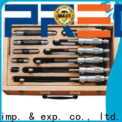 custom od micrometer ratchet chinese manufacturer for depth measurements