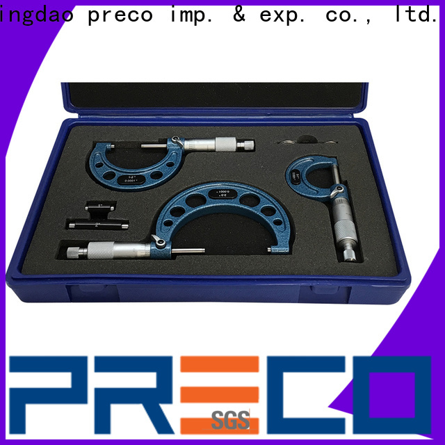 PRECO wholesale stage micrometer for depth measurements