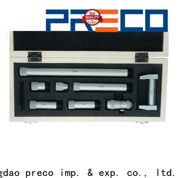 PRECO basic anvil micrometer factory price for mechanical