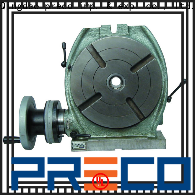 PRECO new mill rotary table company for milling machine