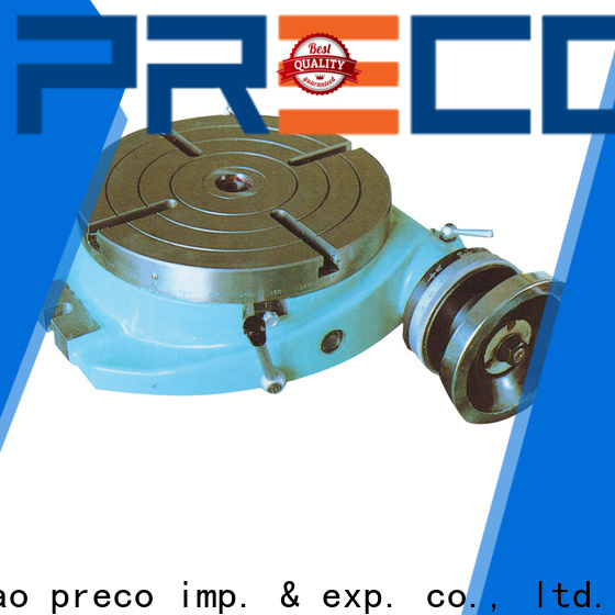 PRECO best cnc rotary table suppliers for milling machine
