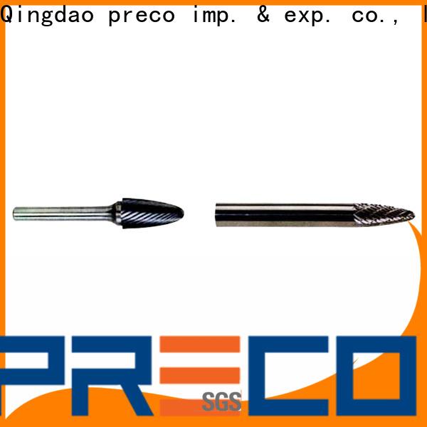 PRECO k90 long reach carbide burr company for work piece drilling