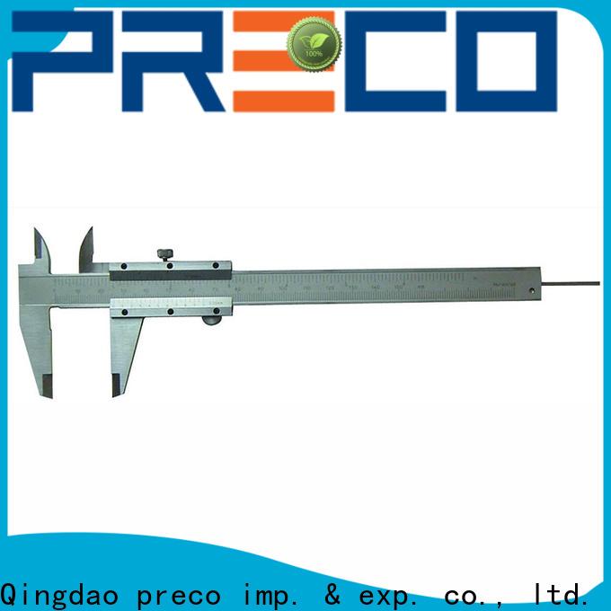PRECO steel vernier caliper gauge company for inside