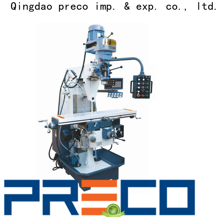 PRECO geared industrial milling machine factory for Metal Working