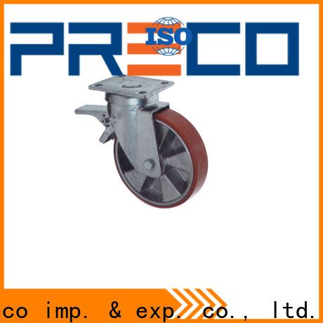 PRECO Custom steel caster wheels heavy duty for business for Scaffold