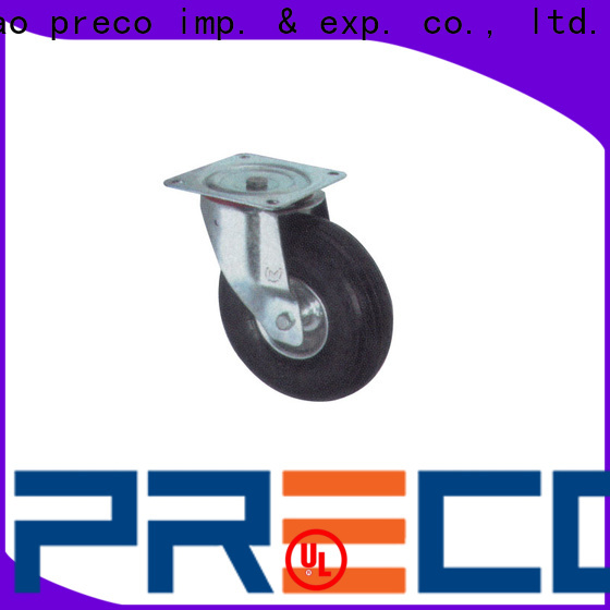 PRECO Wholesale rubber wheels suppliers For Furniture Wheels